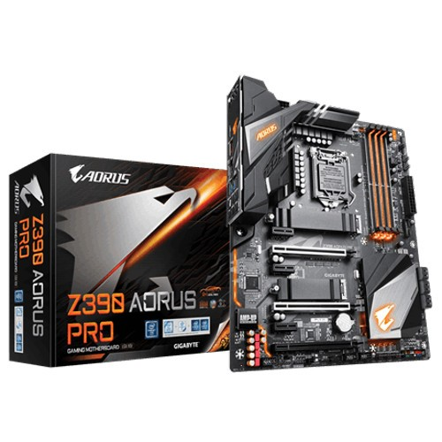 MB GIGABYTE Z390 AORUS PRO INTEL I9 SOK1151 9th/8th GEN DDR4 MAX 64GB DUAL M.2 USB 3.1  GbE LAN RGB FUSION ,Desktop Mainboard