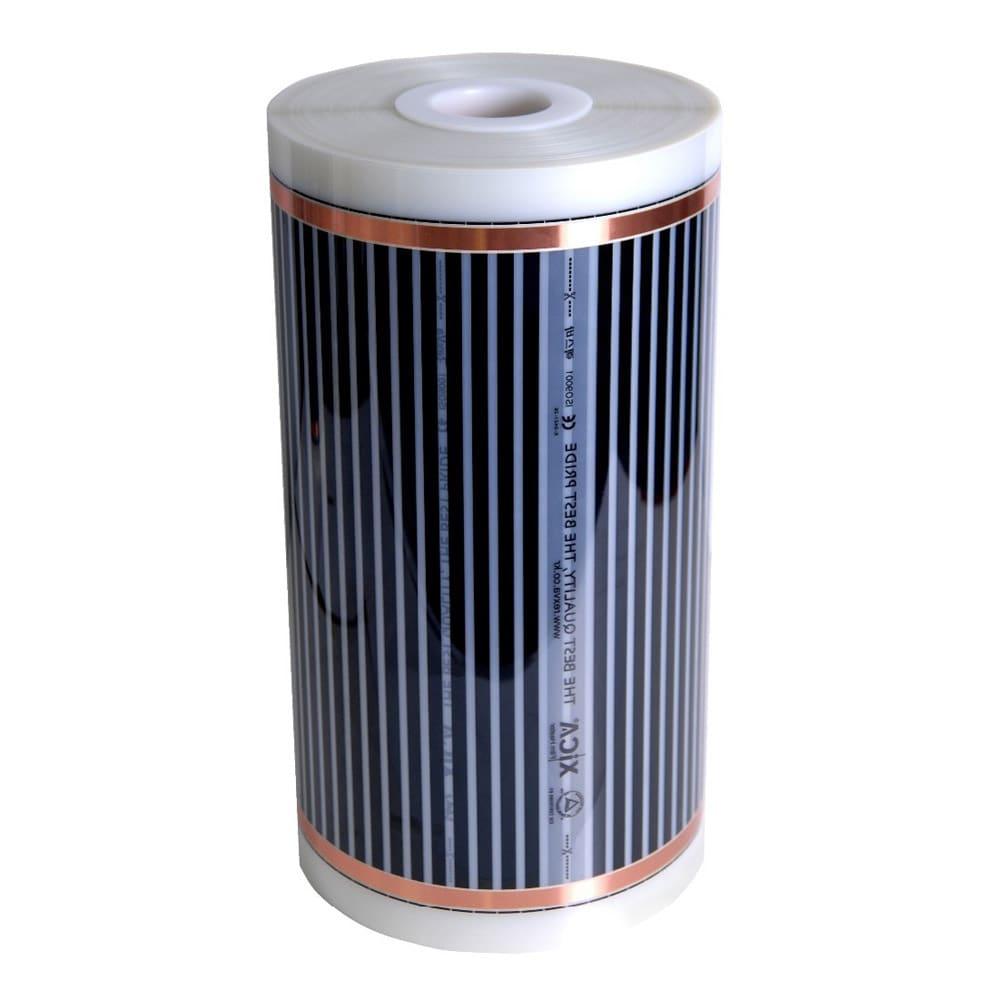 سجادة التدفئة الكهربائية الكربونيه قياس 1X1 مع عازل ضد الماء ومقاوم للحرارة والحرائق مع عازل حراري 5 ملم قصديري استهلاك 200 وات بالمتر ,Electrical Carpet