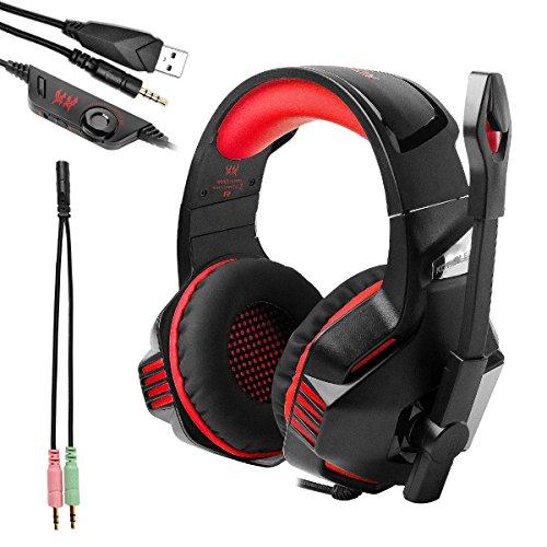 HEADSET GAMING KOTION EACH G7500  PRO BASS HD LED ,Headphones & Mics