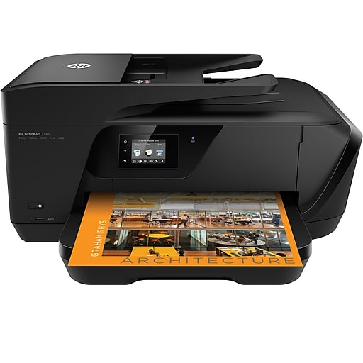 PRINTER HP PHOTOSMART ALL IN ONE A3 OFFICEJET 7510 WITH eFax Printer ,Multifunction