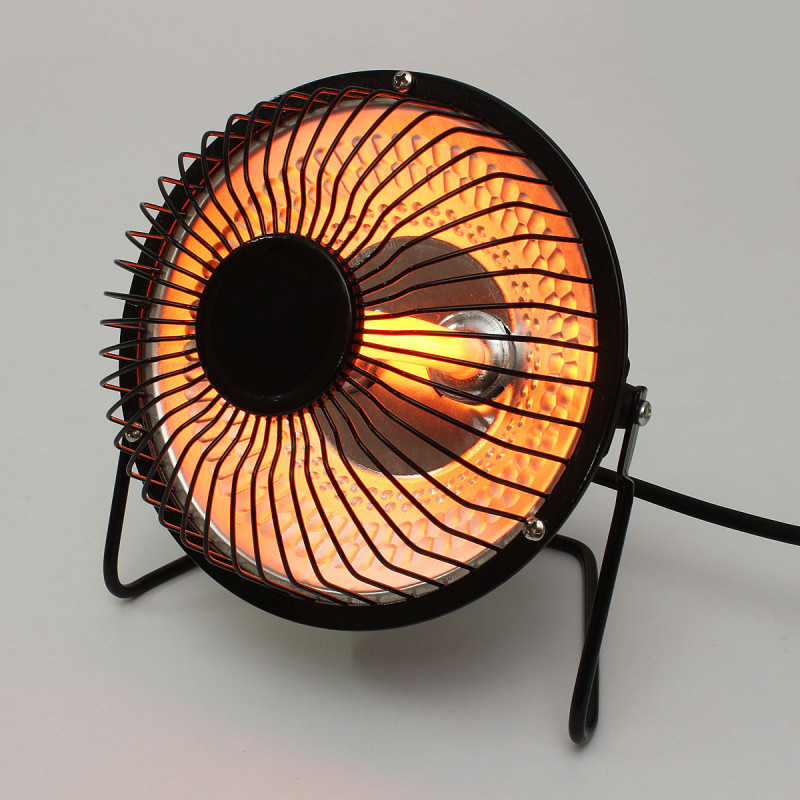 مروحه صغيره معدنيه دفايه 250 وات تعمل على الكهرباء ,Room Fan
