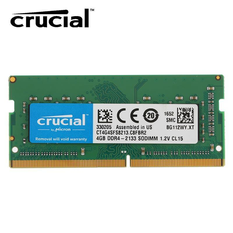 DDR4 4GB PC2666 CRUCIAL FOR NOTEBOOK BOX ,Laptop RAM