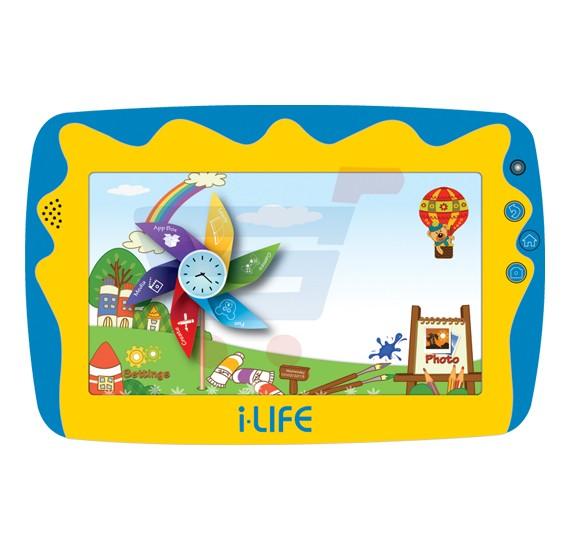 KIDS TAB I LIFE 7.0 HD - QUADCORE 1.2GHZ 512GB 8GB Dual Camera - PARENTAL CONTROL - WIFI - KIDS TAB 5 - BLUE ,Display 7 Inch