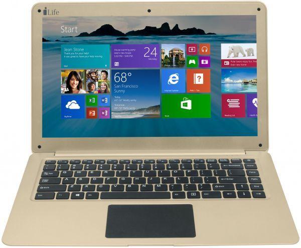 NOTEBOOK I-LIFE ZEDAIR X CELERON N3350 2.4GHz 2M 4G SSD120GB VGA INTEL 13.3 IPS FINGERPRINT WIN10 GOLD ,Laptop Pc