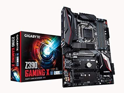 MB GIGABYTE Z390 GAMING X INTEL I9 SOK1151 9th/8th GEN DDR4 MAX 128GB DUAL M.2 USB 3.1 GbE LAN RGB FUSION ,Desktop Mainboard