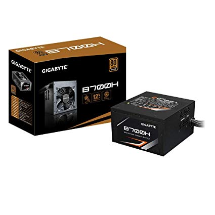 POWER SUPPLY  PSU GIGABYTE 700W 80 PLUS BRONZ CERTIFIED SUPPORTS NVIDIA SLI / AMD CROSSFIRE ,Case & Power Supply