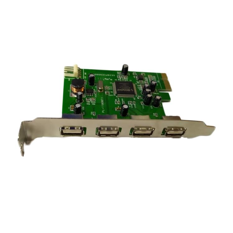 CARD USB 2.0 4 PORT PCI EXPRESS ,Card