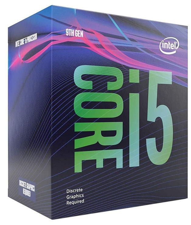 CPU INTEL CORE™ i5 9400F 2.9 GHz UP TO 4.1 GHz 9MB CACHE SOK LGA 1151 9TH GEN 65W 6Cores 6Threads BOX ,Desktop CPU