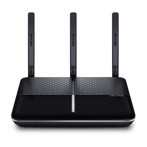ADSL2 MODEM+ROUTER+3PORT GIGABIT+1USB+ 1X GIGABIT WAN + ACCESSPOINT WIRELESS DUAL BAND-AC1600   3 ANTENNA TP-LINK-ARCHER VR600+FILTER BLACK ,ADSL Routers