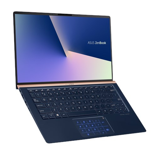 NOTEBOOK ASUS ZENBOOK 13 UX333FN I5 8265U 1.6 UP TO 3.9GHz 8M 8G DDR3 512SSD NVIDIA MX150 2GB DDR5 13.3 WIN10 BLUE ,Laptop Pc
