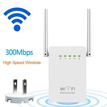 ACCESS POINT+REPEATER+RANGE EXTENDER WIRELESS-N 300Mbps MINI ROUTER ,Wirless & Switch