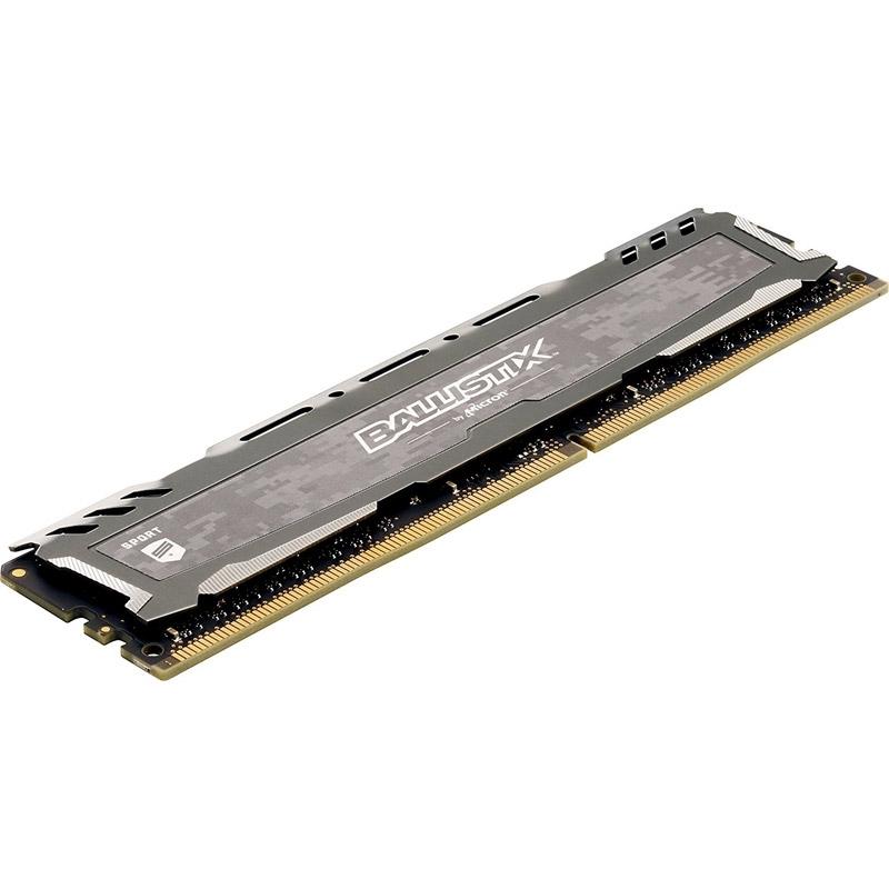 DDR4 8GB PC3000 CRUCIAL BALLISTIX SPORT GAMING MEMORY BY.MICRON BOX FOR PC ,Desktop RAM