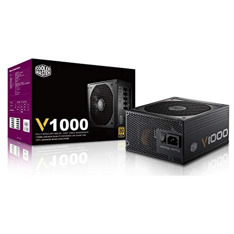 POWER SUPPLY COOLER MASTER ATX V1000W 80 PLUS GOLD ,Case & Power Supply
