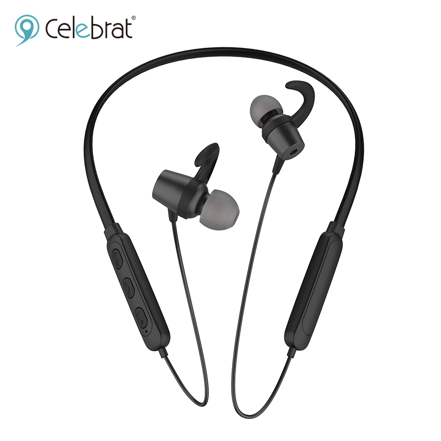 HEADSET BLUETOOTH BEHIND THE NECK SPORT HIGH QUALITY CELEBRAT A16 COLOR - ,Headphones & Mics