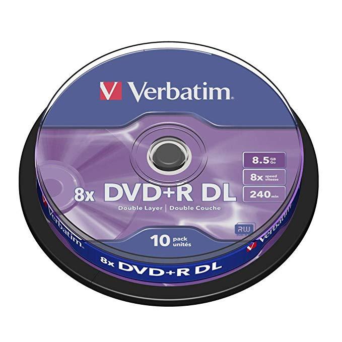 CD BLANK DVD-VERBATIM 4.7GB 16X بدون علبة ,Blank CD & DVD