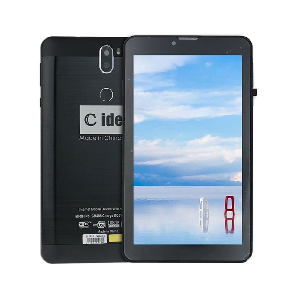 TABLET PC C IDEA 7.0 QUADCORE 2GB 16GB 4G SIM+POWER BANK+WATCH+SILICON CASE+OTG+ PEN CM-456 غير معرفة ,Display 7 Inch