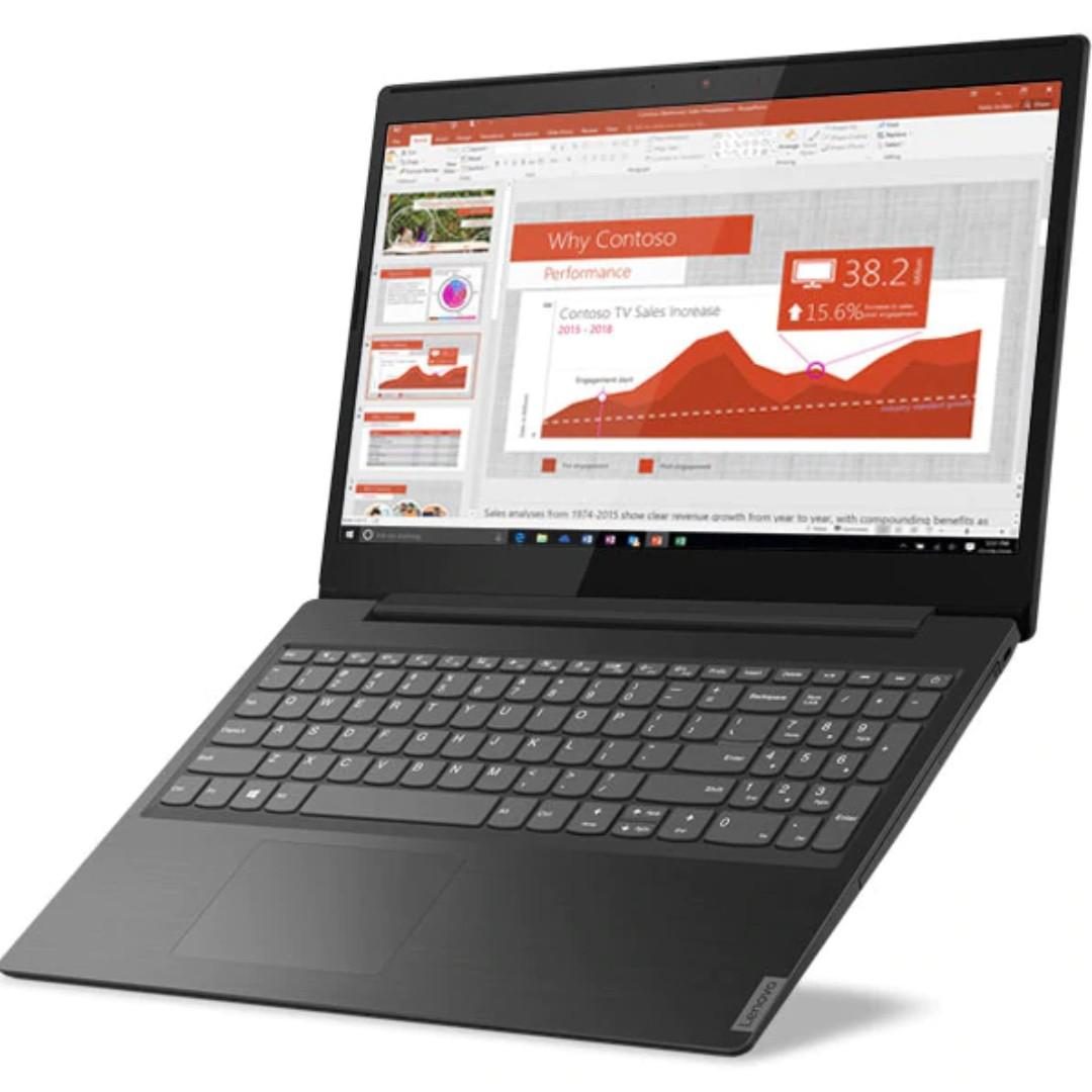 NOTEBOOK LENOVO L340 AMD RYZEN R5-3500U 2.10GHz UP TO 3.7GHz  4M 4G 1T AMD RADEON VEGA 8 15.6 BLACK ,Laptop Pc