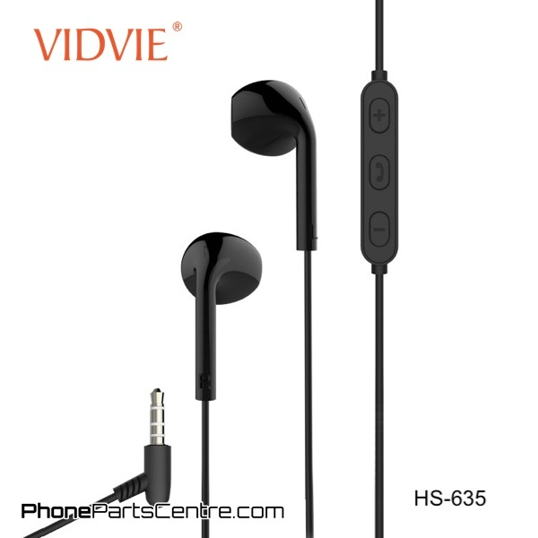 EARPHONE VIDVIE  FOR IOS/ANDROID WITH MIC+ VOLUME CONTROL HS635  WHIT ,Smartphones & Tab Headsets