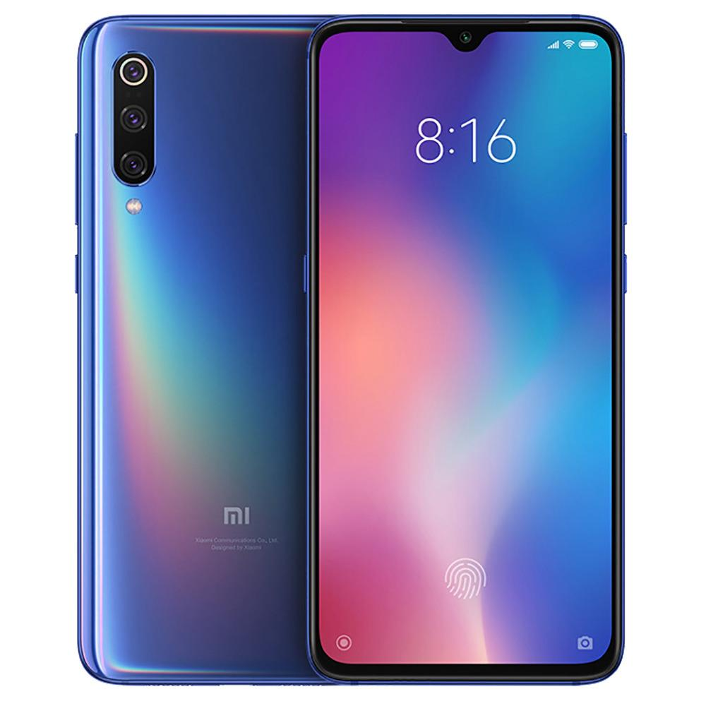 MOBILE PHONE XIAOMI 6.39 OCTA CORE 1.4GHZ 6GB 128GB DUAL SIM MI 9 BLUE - - - ,Android Smartphone