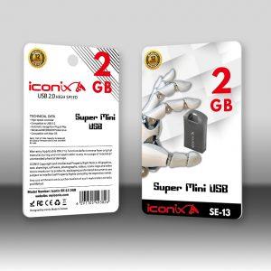 RAM USB 16GB FLASH I CONIX SE-13  معدنية - ,Flash Memory