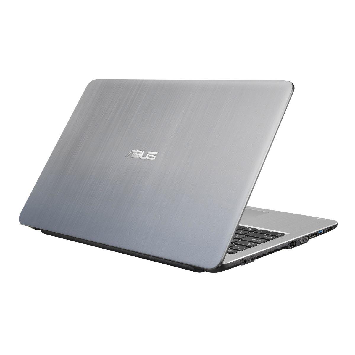 NOTEBOOK ASUS F540UA-GQ1795 I3 7020U 2.30GHz 3M 4G HD 1T VGA INTEL 15.6 SILVER ,Laptop Pc