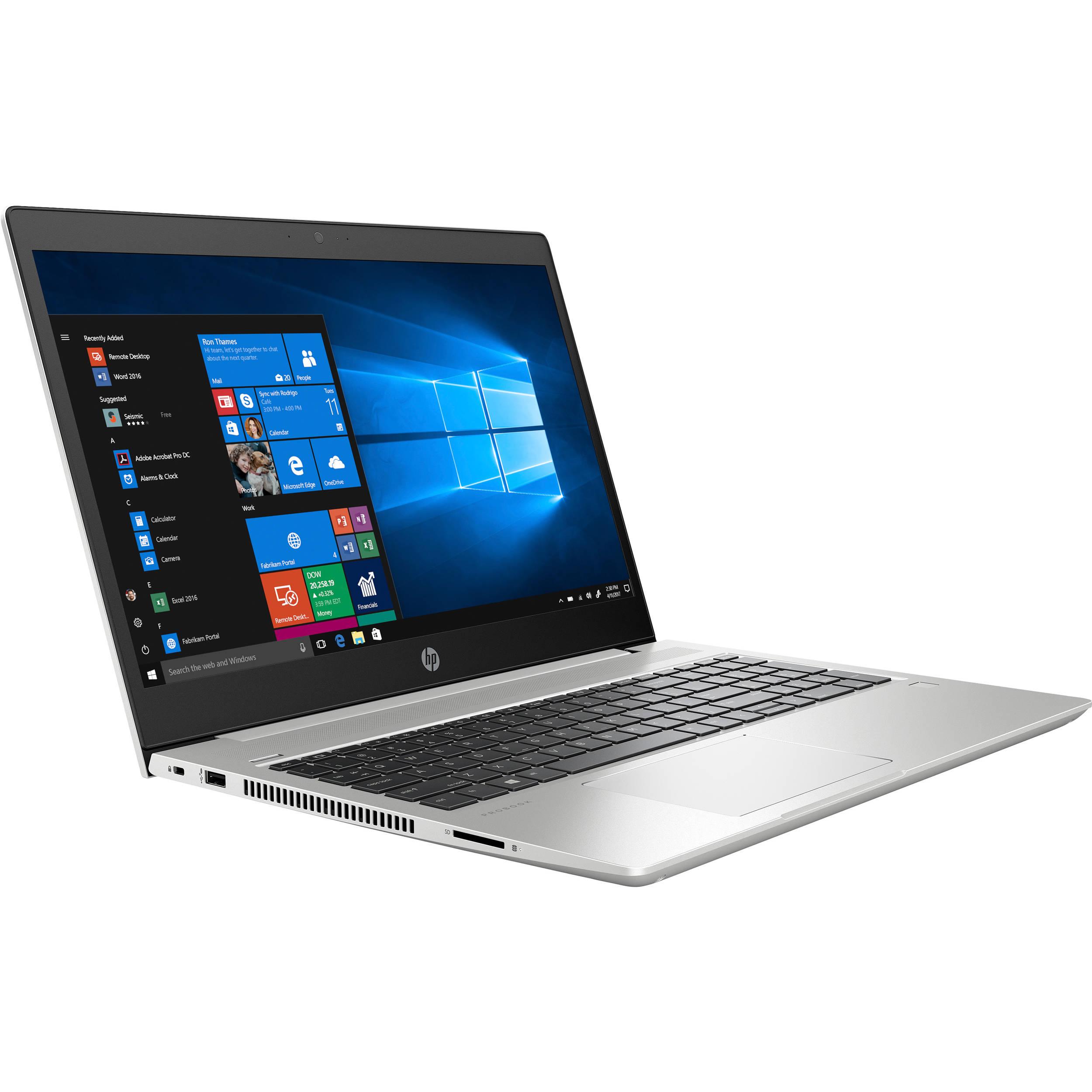 NOTEBOOK HP PROBOOK 450 G6 I7 8550U 1.8GHZ UP-TO 4GHZ 8M 8G DDR4 1T VGA NVIDIA 130MX 2G DDR5 15.6 GRAY ,Laptop Pc