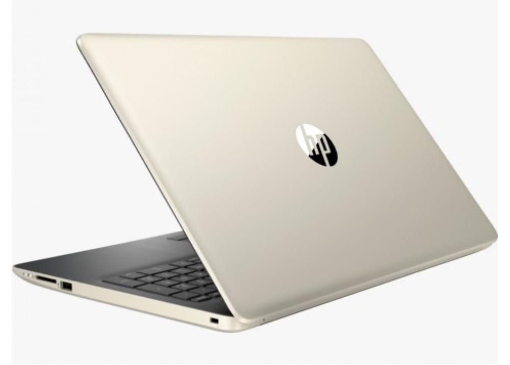 NOTEBOOK HP 15-DA0116NIA I7 8550U 1.8GHZ UP-TO 4GHZ 8M 8G DDR4 1T VGA NVIDIA 130MX 4G DDR3 15.6 GOLD عليه بعض الخدوش ,Laptop Pc