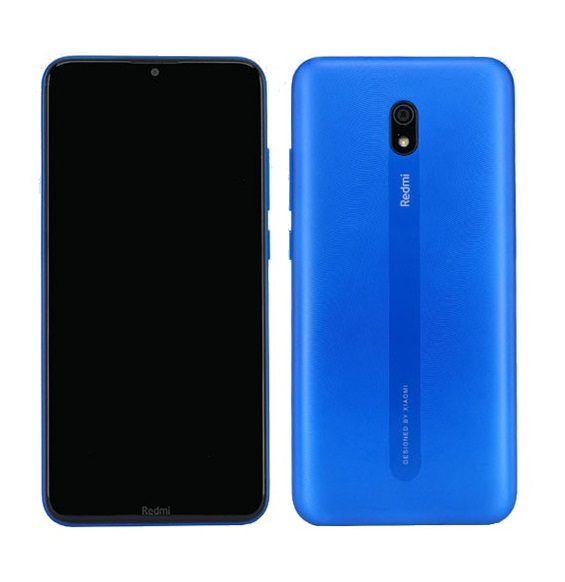 MOBILE PHONE XIAOMI 6.2 OCTA CORE 1.4GHZ 2GB 32GB DUAL SIM REDMI 8A BLUE كفالة ذهبية ,Android Smartphone