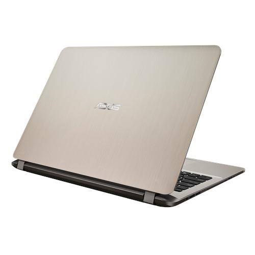 NOTEBOOK ASUS X507UB I7 8550U 1.8GHZ UP-TO 4GHZ 8M 8G DDR4 1T VGA NVIDIA MX110 2G DDR5 15.6 SLIM GOLD ,Laptop Pc