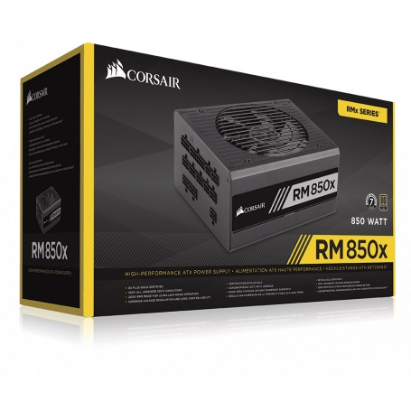 POWER SUPPLY CORSAIR TX850-850 WATT 80 PLUS GOLD 24PIN LGA PSU ,Case & Power Supply