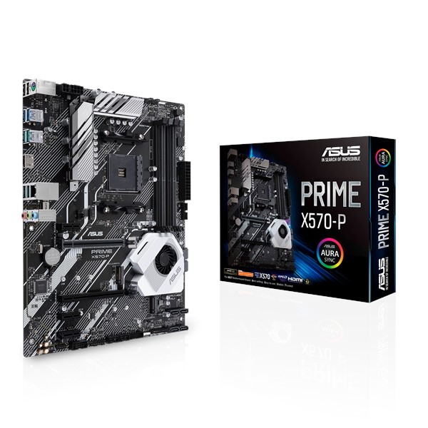 MB AMD ASUS PRIME X570-P DDR4 UP TO 128G +CPU AMD Ryzen 5 3500X 6C / 6T 3.6 up to 4.2GHz, 35MB Cache ,Desktop Mainboard