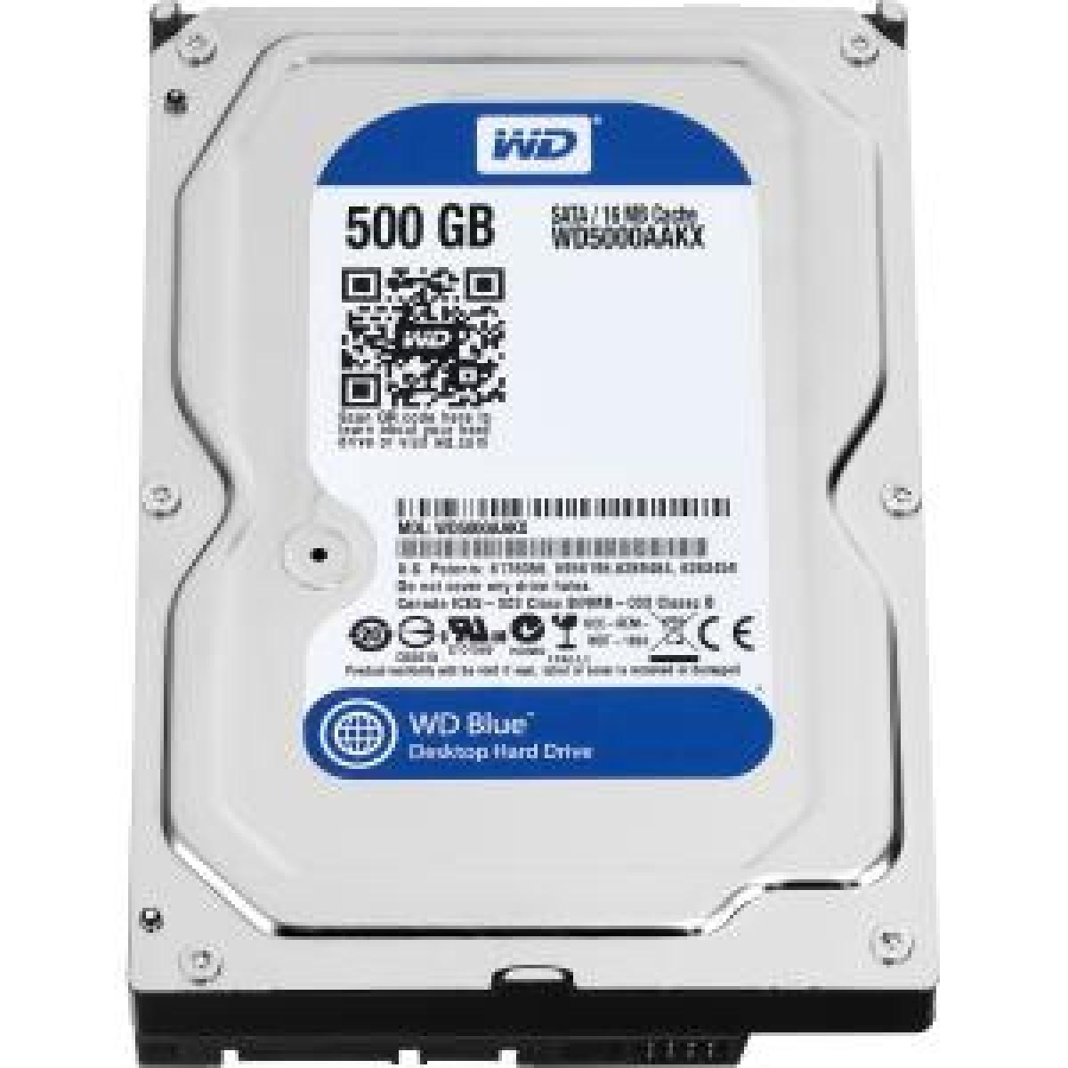 HD 500GB WD 5000AAKX SATA3 16MB BLUE FOR PC ,Desktop HDD