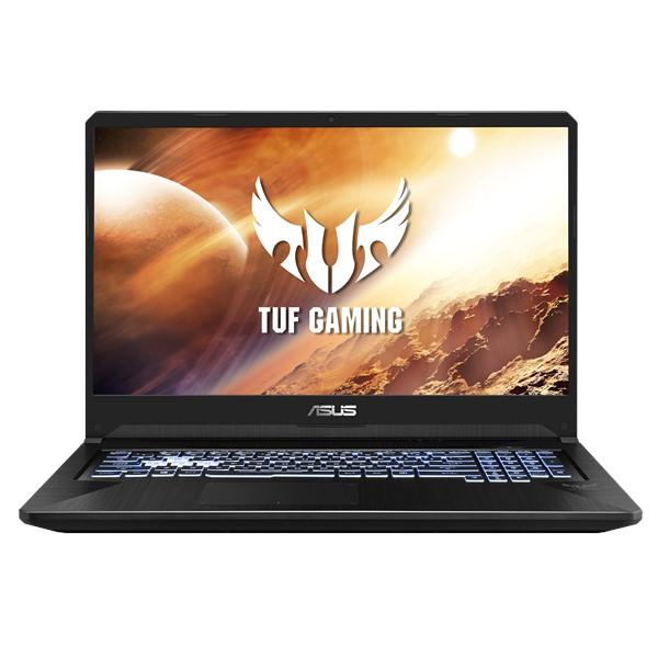 NOTEBOOK ASUS GAMING FX705DU-H7090 AMD RYZEN R7-3750H 2.3GHz UP TO 4GHz 6M 16G 512SSD VGA NVIDIA 6G GTX1660TI GDDR6 17.3 BLACK ,Laptop Pc
