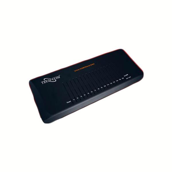 HUB 10/100 16 PORT SWITCH TECH COM SSD-S-1607 ,Wirless & Switch