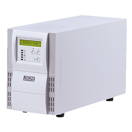 UPS VGD-1500VA/1050W-POWERCOM ON LINE LCD DISPLAY ,UPS
