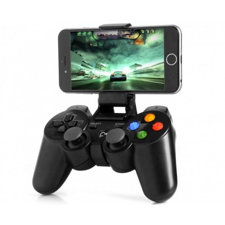 JOYPAD SZ-1005 BLUETOOTH 7IN1 FOR ANDROID IOS PC WITH RECHARGABLE BATTERY 350 MAH  مع ستاند رجاج ,Controller & Joystick
