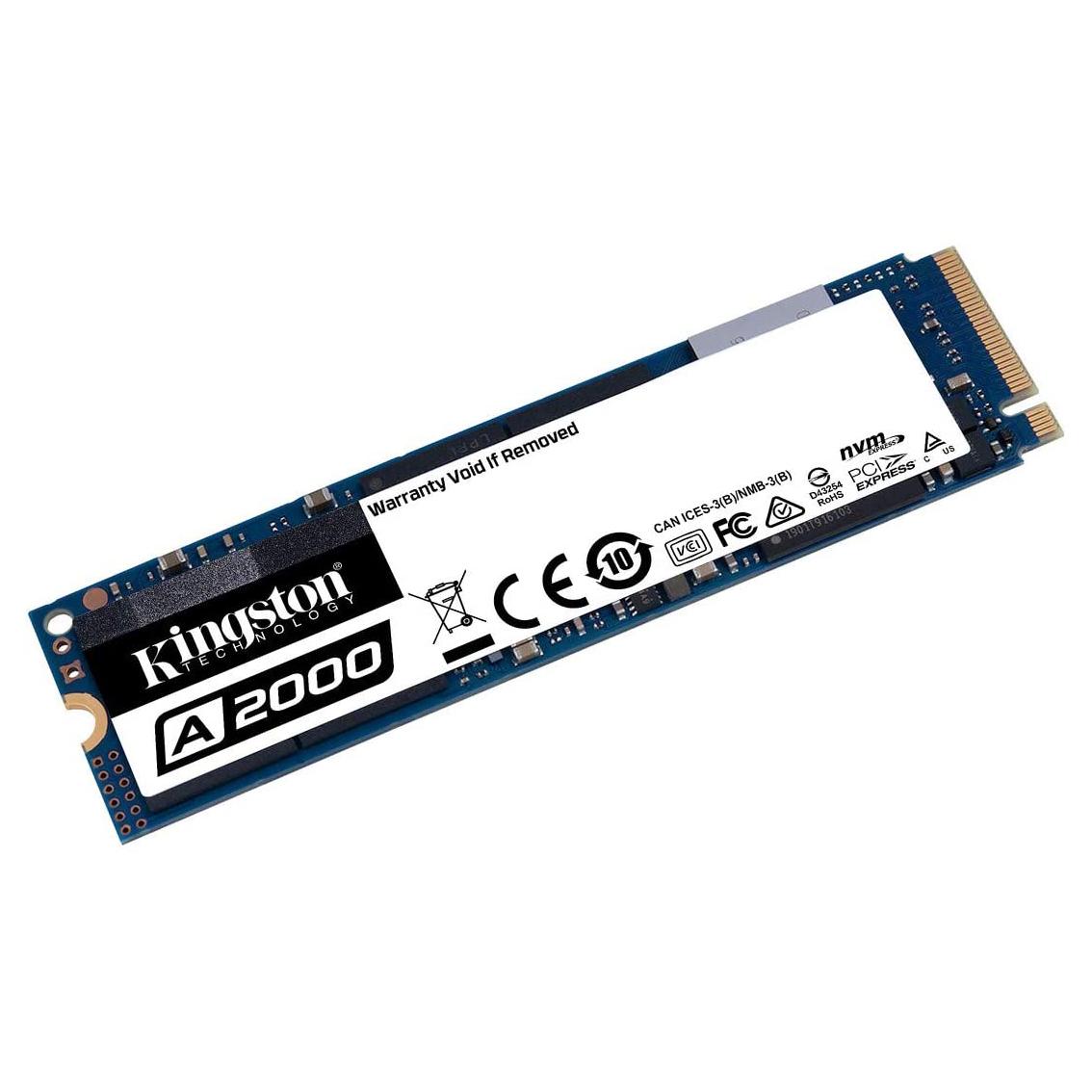 HDD SSD 250GB  KINGSTON A2000 NVMe 35X FASTER ,SSD HDD