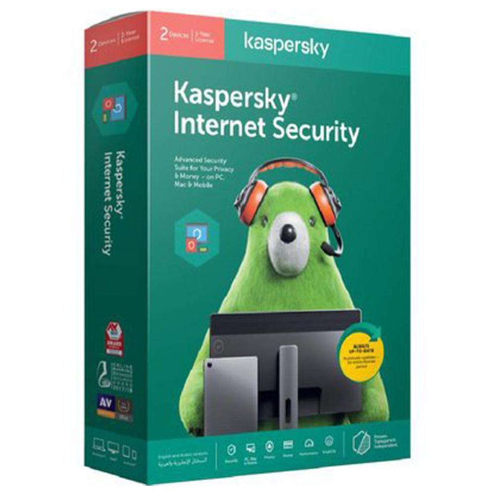KASPERSKY INTERNET SECURITY 2020 1YEAR 2 USERS ORIGINAL ,KASPERSKY