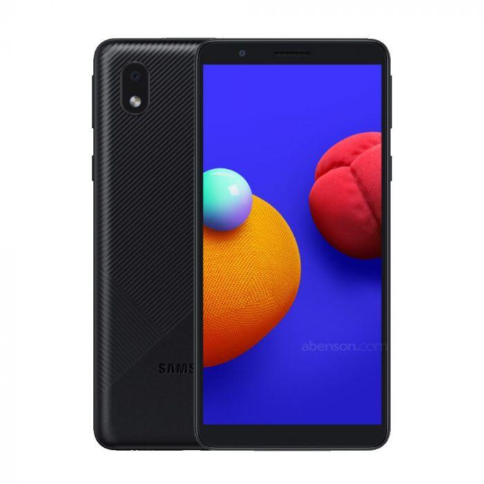 MOBILE PHONE SAMSUNG 5.3 QUAD CORE 1.5GHZ 1GB 16GB DUAL SIM GALAXY A01 CORE BLACK ,Android Smartphone