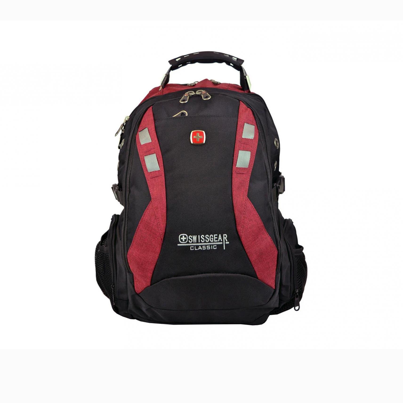 NOTEBOOK BAG SWISSCEAR 9371 BACK COLOR 15.6 صوت+USB ظهر+تطويلة ,Laptop Bag