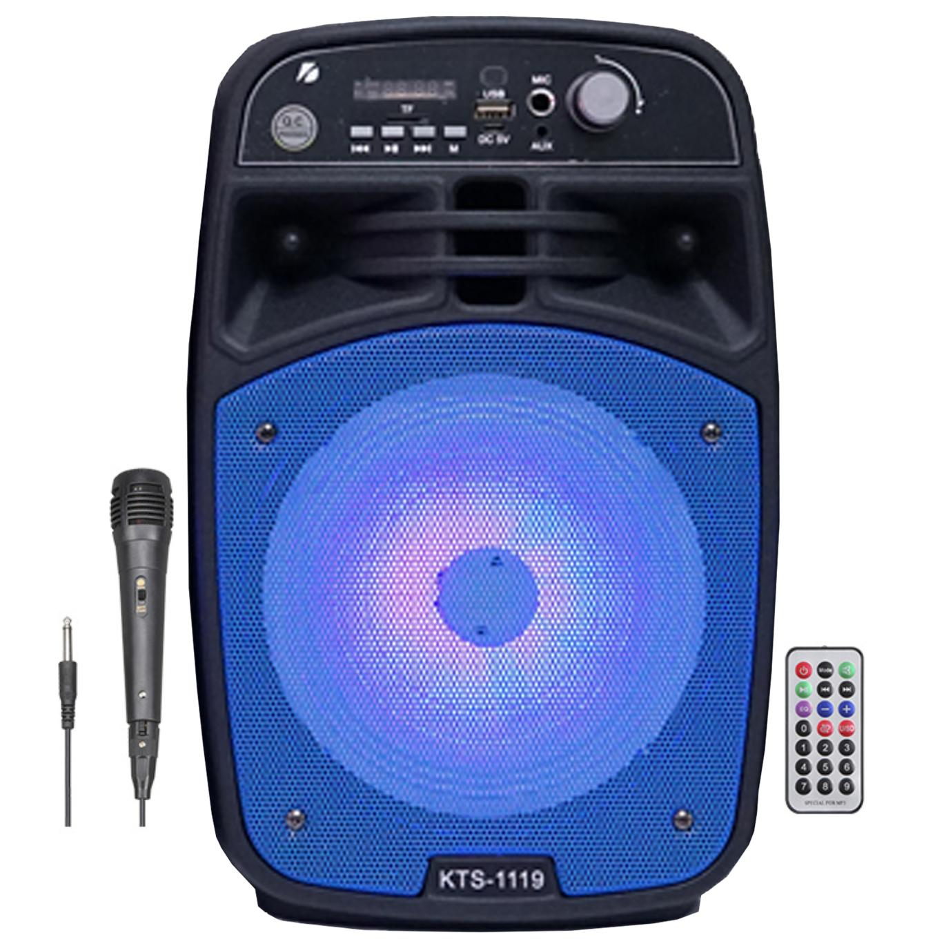 SPEAKER BLUETOOTH KTS-1119 FOR MP3 & MOBILE & FM & SD CARD USB & AUX & MIC & REMOTE ,Speakers