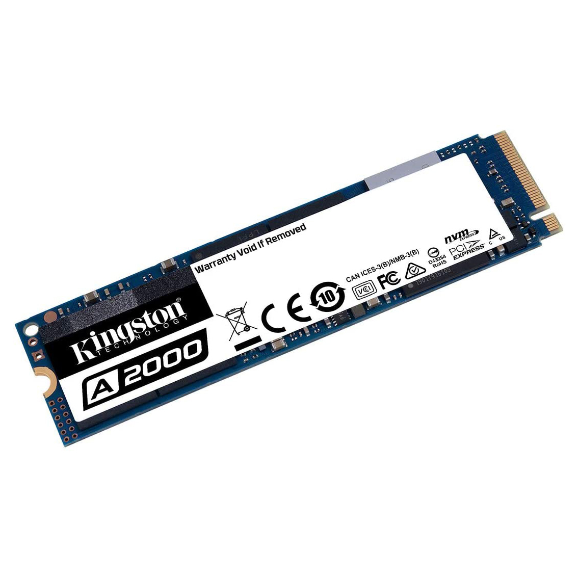 HDD SSD 500GB  KINGSTON A2000 NVMe 35X FASTER ,SSD HDD