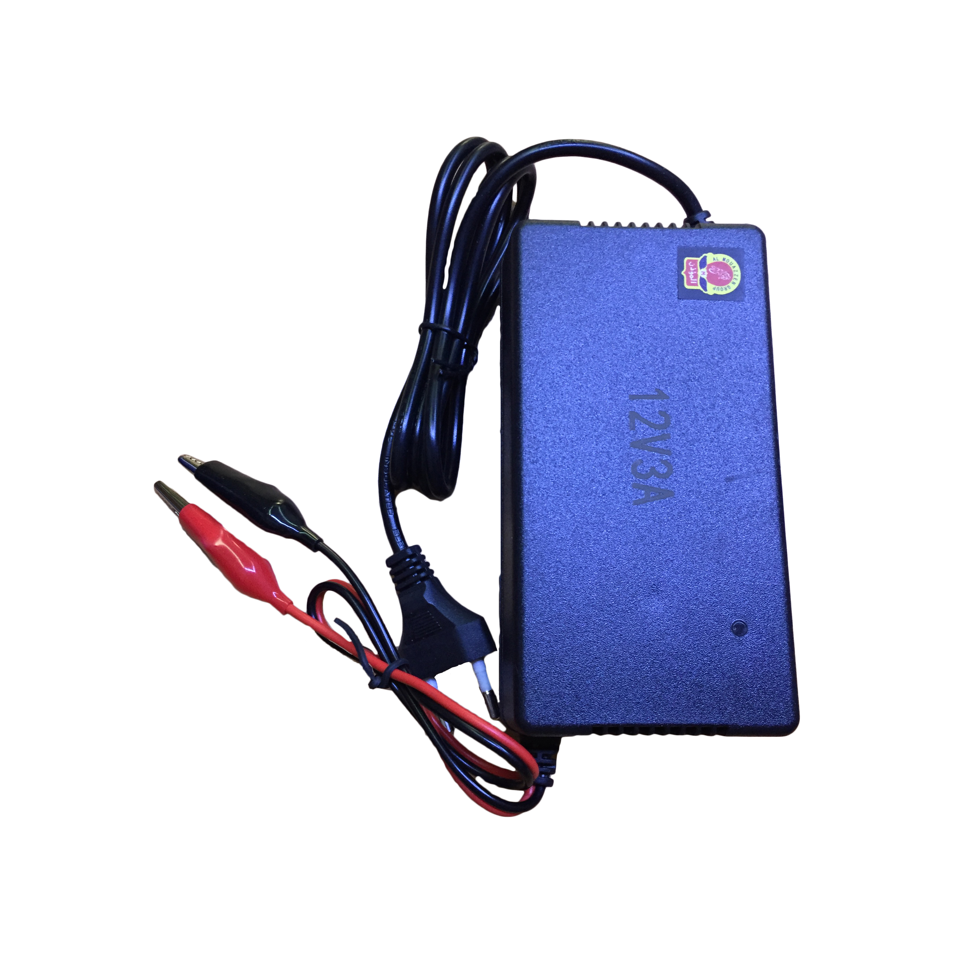 CHARGER UNIQA FOR UPS BATTERY 12V & 3A  SON-1203 شاحن المؤذن ,Battery Charger