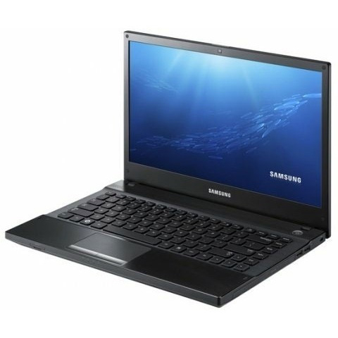 NOTEBOOK SAMSUNG NP300-V4A I5 2450M (2.3 to 2.9GHz-Cache:3M) DDR3 4G HDD 500  NVIDIA 520 1G BLACK LED 14+DVD ,Used Laptops