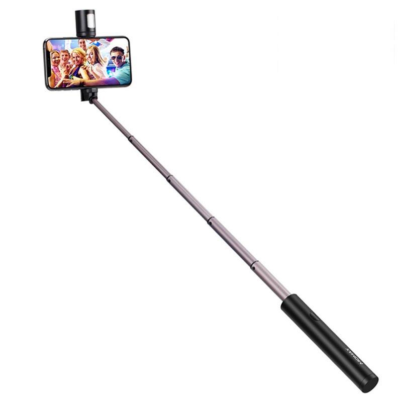 SELFIE STICK BLUETOOTH MOMAX WITH LED FILL LIGHT  60CM سيلفي بلوتوث مع فلاش ليد ,Other Smartphone Acc
