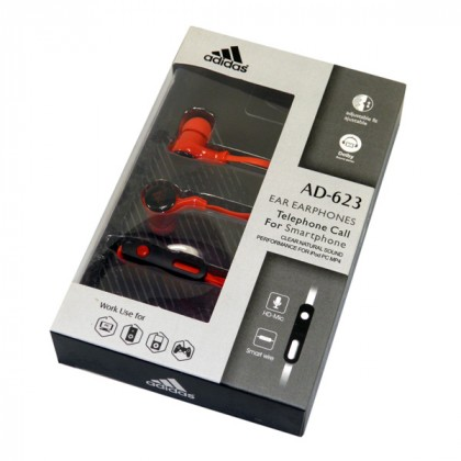 EARPHONE FOR SMARTPHONE  ADIDAS AD-623 COLOR ,Smartphones & Tab Headsets