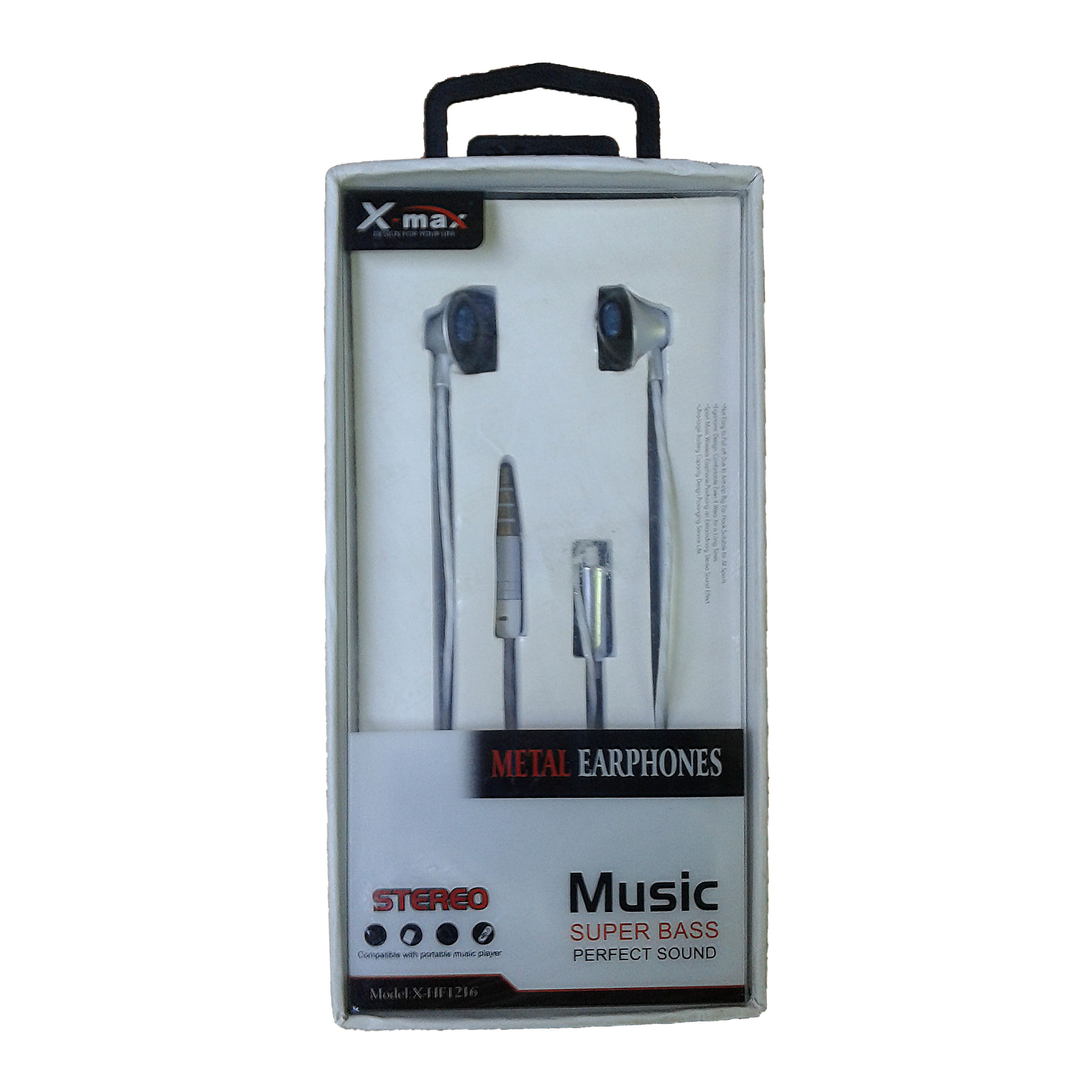 EARPHONE X-MAX FOR IOS/ANDROID WITH MIC HIGH QUALITY X-HF 1216/1217 ,Smartphones & Tab Headsets