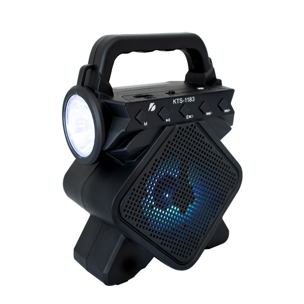 SPEAKER BLUETOOTH KTS-1183 FOR MP3 & MOBILE & FM & SD CARD USB & AUX &MIC سبيكر بلوتوث مع بيل ,Speakers