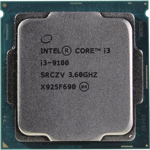 CPU INTEL CORE™ i3 9100 3.6 GHz UP TO 4.2 GHz 6MB CACHE SOK LGA 1151 9TH GEN 4 Cores TRAY بدون مروحه ,Desktop CPU