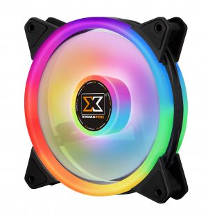 FAN CASE XIGMATEK GALAXY II PRO 3 FANPACK 3X AT120 ARGB ,Fan Cooler